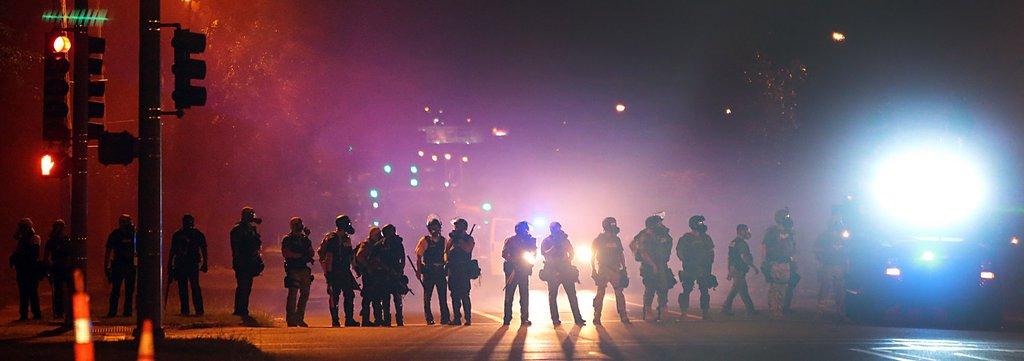 Unruhen in Ferguson, USA (Keystone/AP Photo/Robert Cohen)