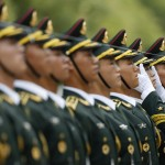 Uzbekistan's President Islam Karimov meets his Chinese counterpart Xi Jinping