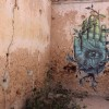 Wandmalerei in Erriadh, Tunesien (Keystone/EPA/Mohamed Messara)