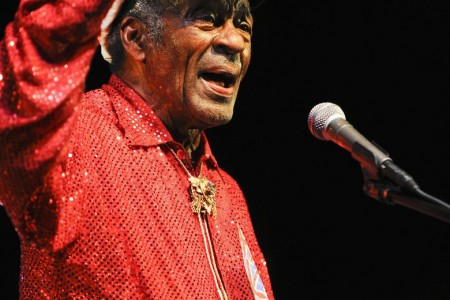 Chuck Berry receives 2014 Polar Music Price