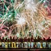 Feuerwerk in Frankfurt/Main D, EPA/Frank Rumpenhorst