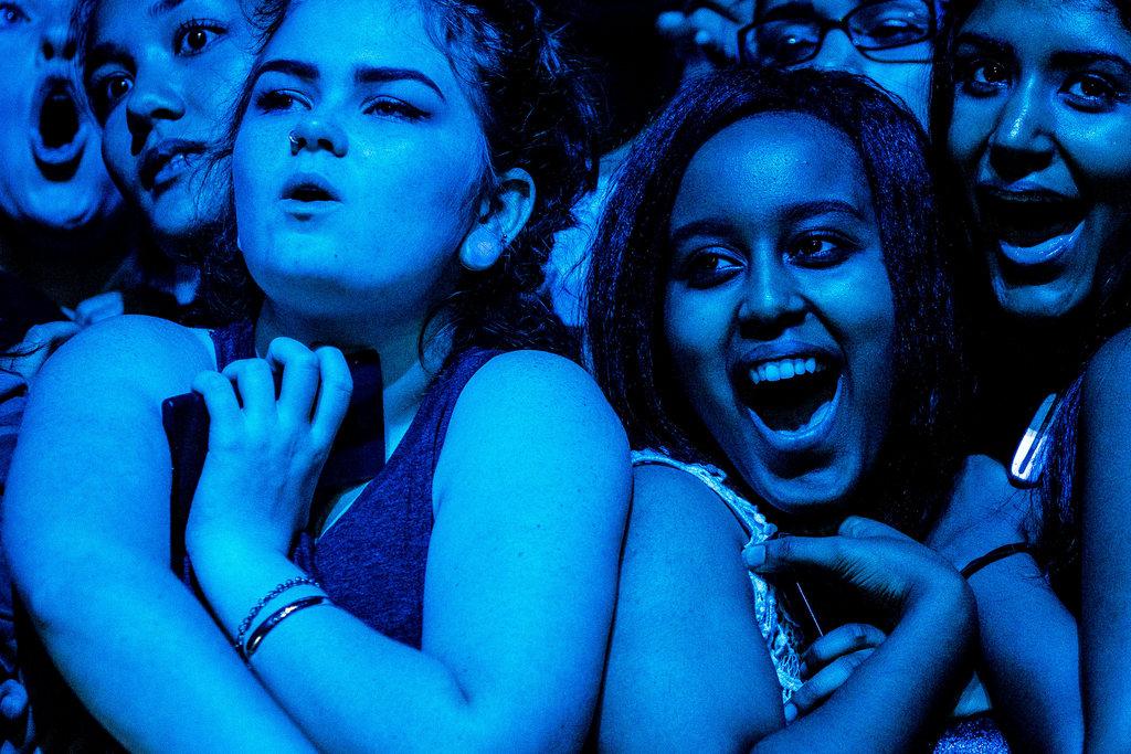 Fans bei einem Musikfestival in Seattle, USA (AP Photo/seattlepi.com, Jordan Stead)