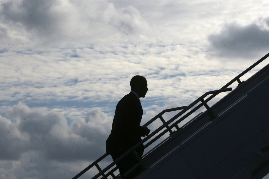 Barack Obama in Tallinn, Estland (Keystone/AP Photo/Charles Dharapak)
