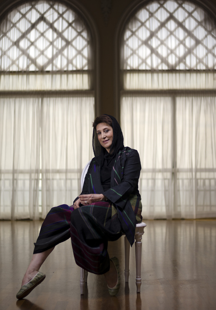 Fatameh Motamed Arya in Venedig, Italien (Keystone/AP Photo/Domenico Stinellis)