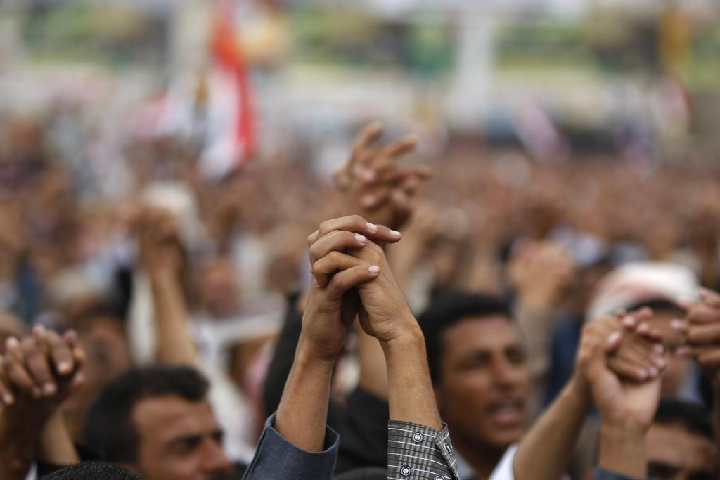 Demonstration in Sanaa, Yemen (Keystone/AP Photo/Hani Mohammed)