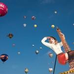 Start der Heißluftballons zur Montgolfiade in Warstein D, EPA/THOMAS RENSINGHOFF