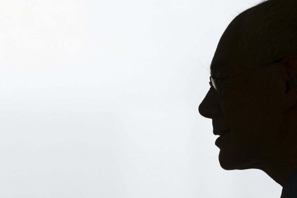 Herman Van Rompuy in Lissabon, Portugal (Keystone/EPA/Tiago Petinga)