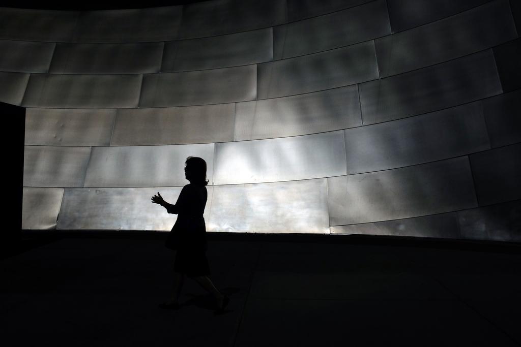 In der Walt Disney Concert Hall in Los Angeles, USA (Keystone/AP Photo/Richard Vogel)
