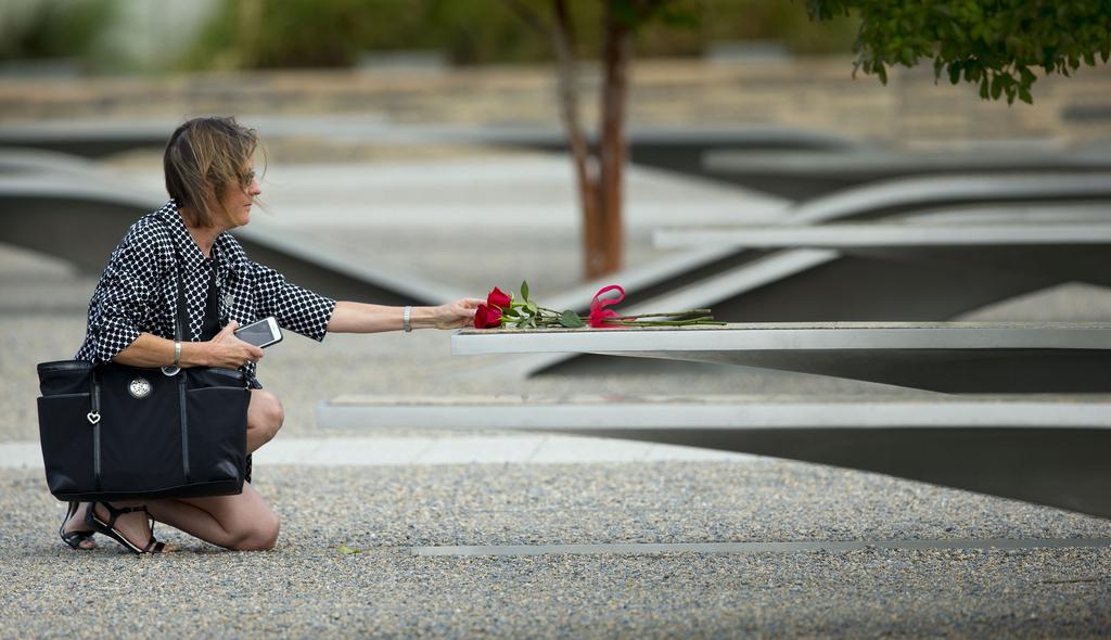 Erinnerung an den 11. September in Washington, USA (Keystone/AP Photo/Pablo Martinez)
