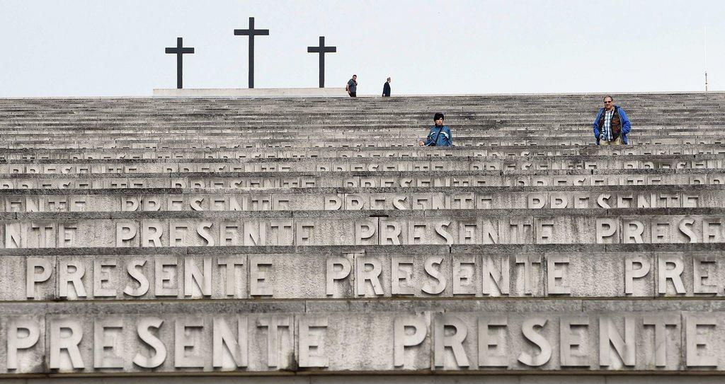 Soldatenfriedhof in Fogliano Redipuglia, Italien (Keystone/EPA/Daniel Dal Zennaro)