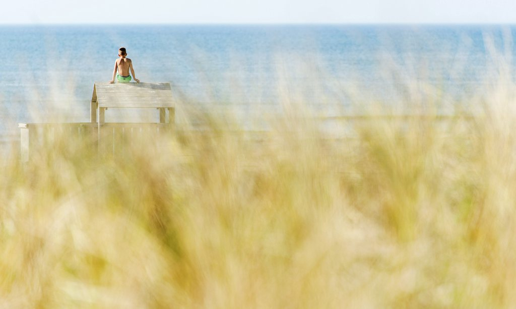 Sommer am Strand von Katwijk aan Zee, Niederlande (Keystone/EPA/Koen Van Weel)