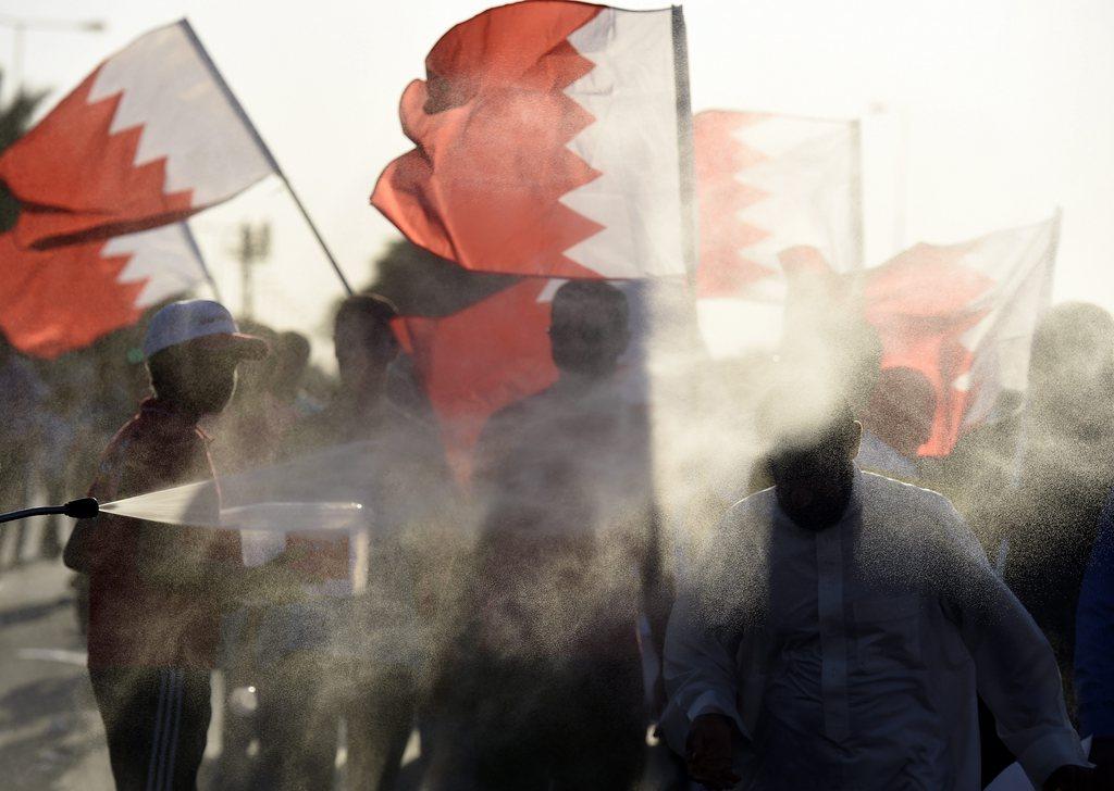 Proteste in Manama, Bahrain (Keystone/EPA/Mazen Mahdi)