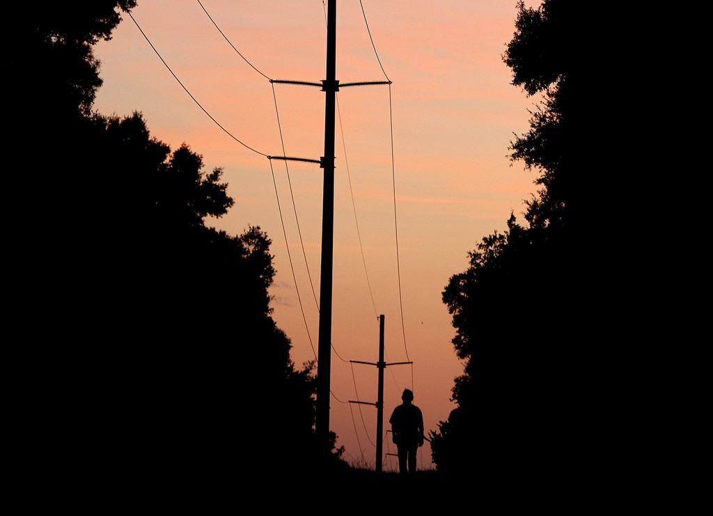 Sonnenuntergang in Gainesville, USA (Keystone/AP Photo/Matt Stamey)
