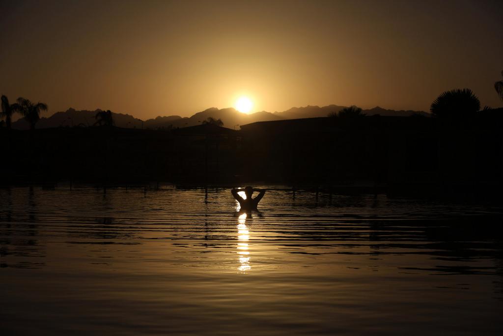 Sonnenuntergang in Sharm el-Sheikh, Ägypten (Keystone/AP Photo/Hassan Ammar)