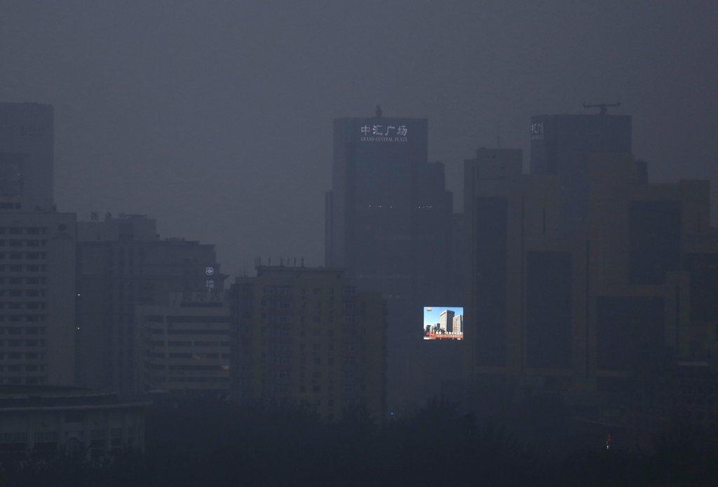Smog in Beijing,China (Keystone/EPA/How Hwee Young)