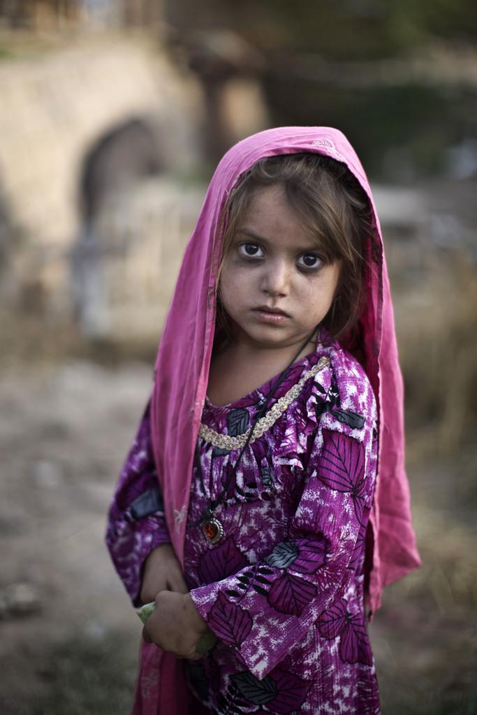 Flüchtlingskind in Islamabad, Pakistan (Keystone/AP Photo/Muhammed Muheisen)