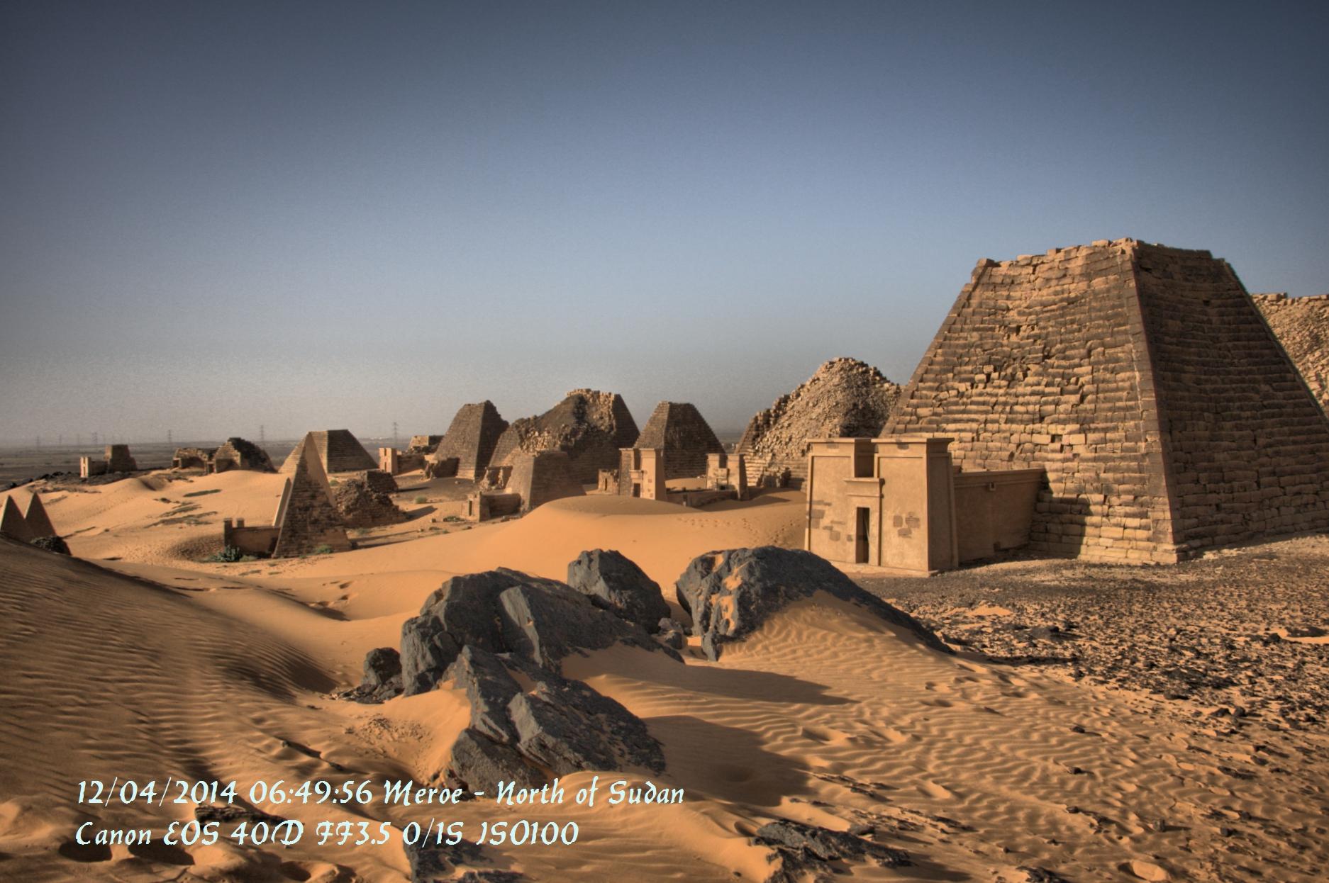 Ruinen von Meroe