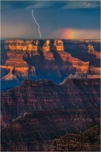Blitz über dem Grand Canyon © Gary Hart