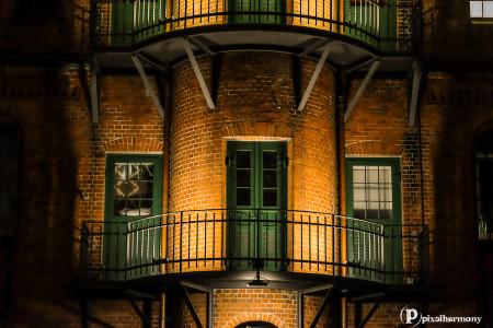Detail aus der Speicherstadt in Hamburg