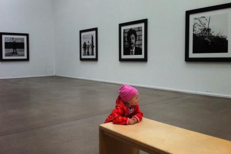 Kleinkind in Ausstellung: Vergleichsfoto, Endergebnis