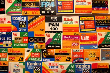 Kleinbildfimverpackungen (flickr Creative Commons)