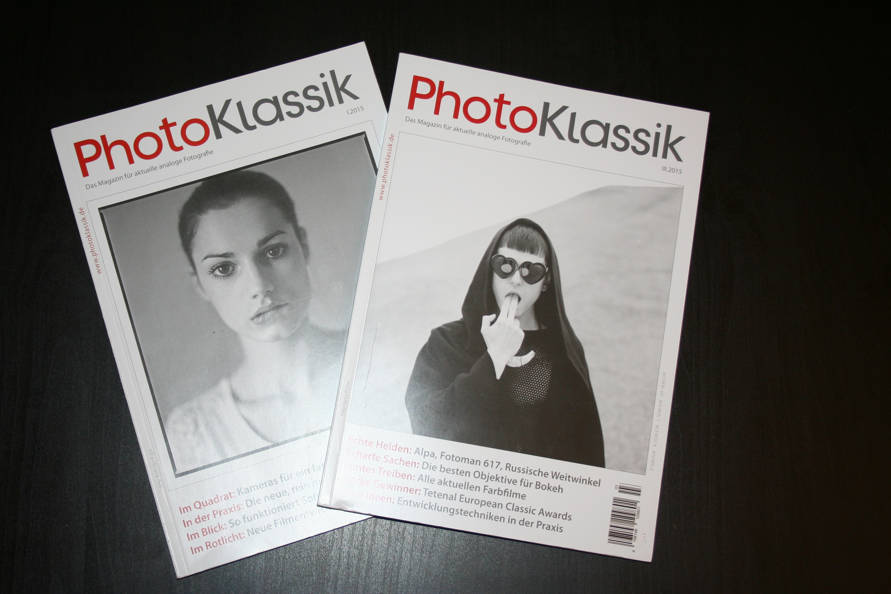 "Review: ""PhotoKlassik – Das Magazin für aktuelle analoge Fotografie"""