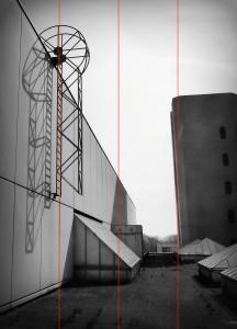 Vergleichsfoto/Kippende Linien