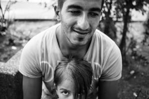 Vater mit Tochter - (c) Martin Gommel