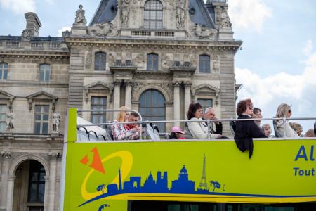Bus, Touristen, Reise, Urlaub, Sehenswürdigkeiten