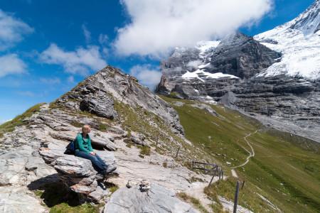 Alpen, Berge, Gletscher, Wandern, Felsen, Eiger