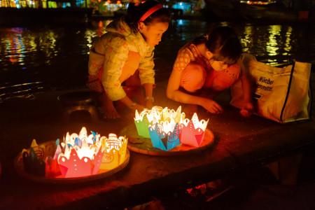 Vietnam, Hoi An, Nachts