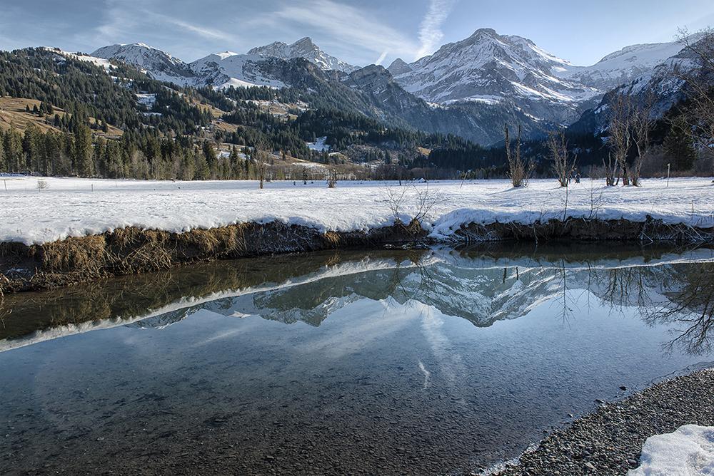 Berner Oberland NIKON D800, 1/80s bei Blende 13/1 mit 24mm Brennweite und ISO 80. - © Guy Goetzinger