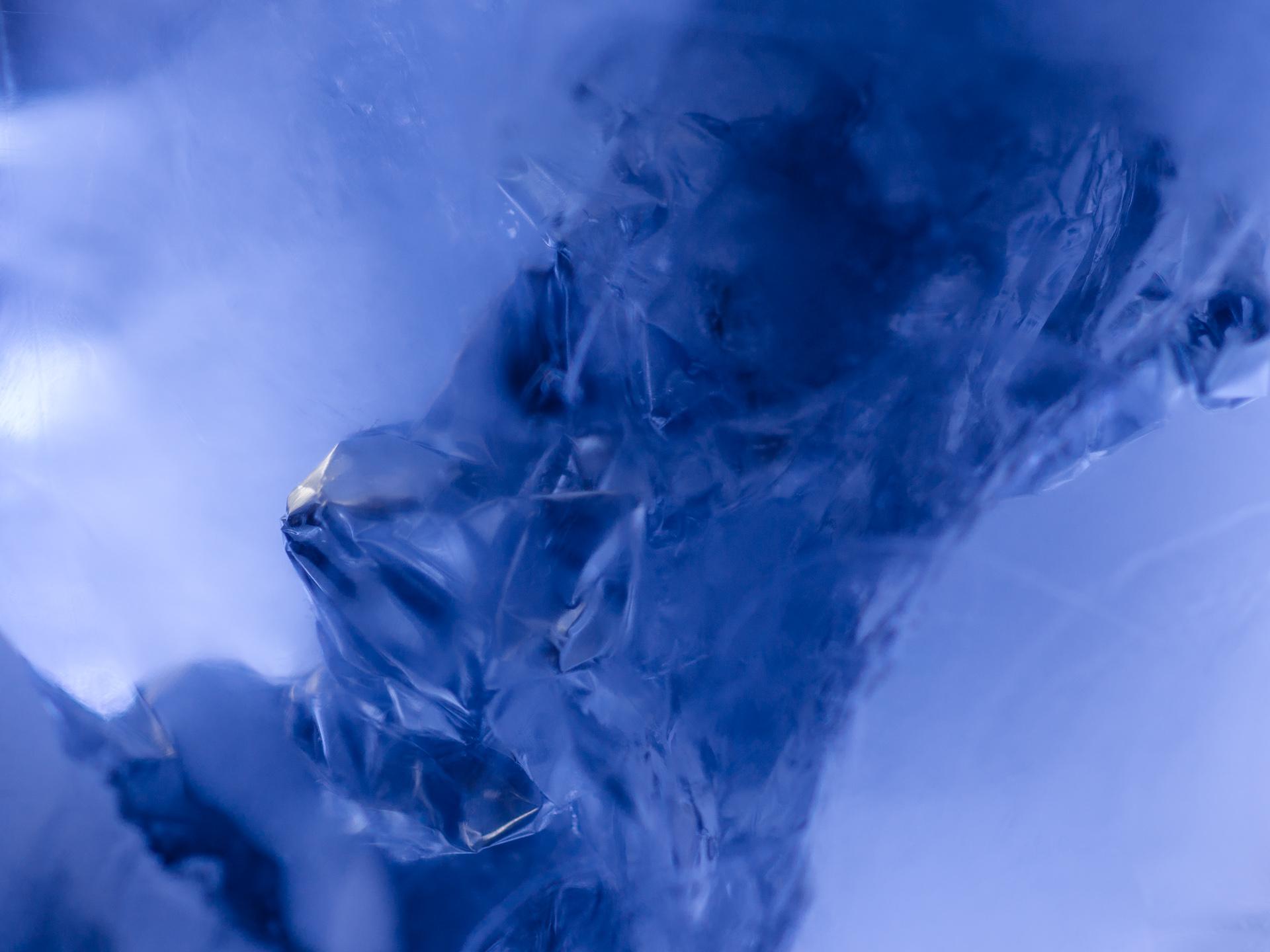 Eis-Abstraktions-Fotografie