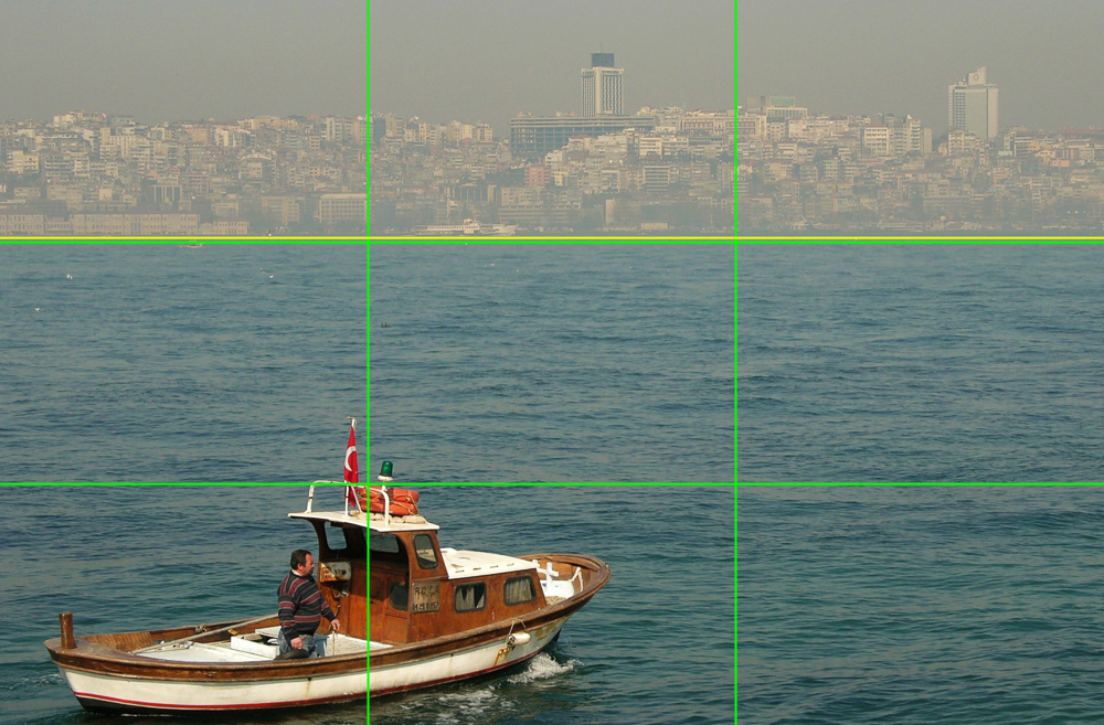 Vergleichsfoto - Horizont