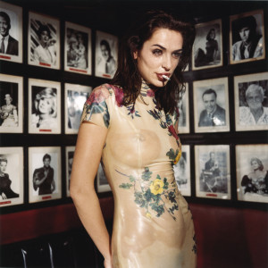 Claire Stansfield crying in the Formosa Café, February 1994, Los Angeles - © Bettina Rheims