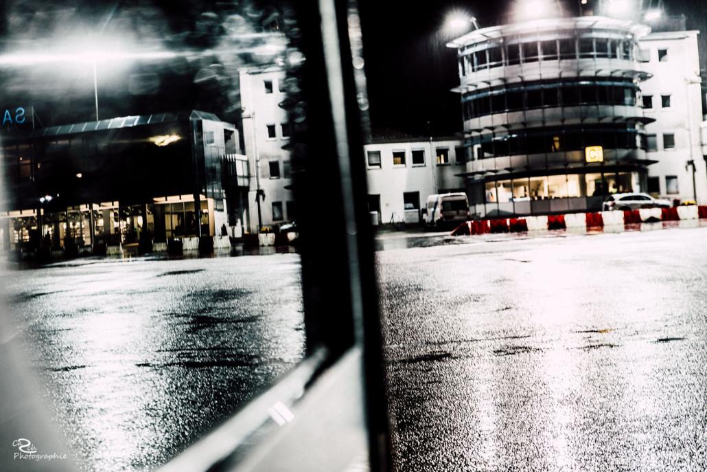 Fotoshooting am Airport Saarbrücken