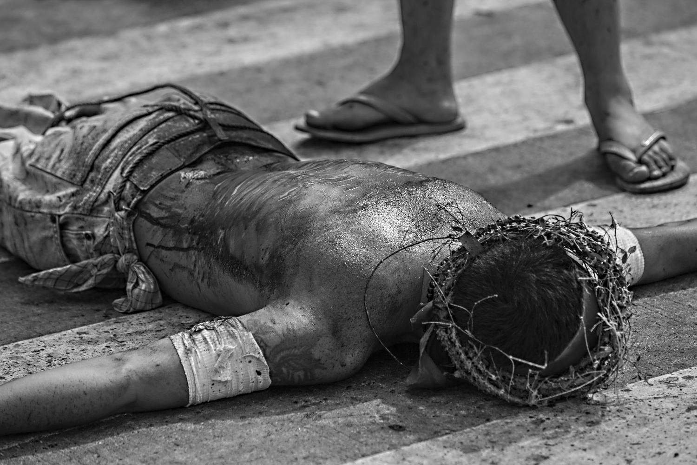 Bild 5: Selbstgeißelung zu Ostern, Philippinen 2015 - (c) Matthias Schlindwein