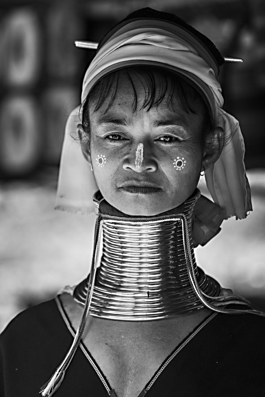 """Bild 7: """"long neck woman"""", Nord-Thailand 2015 - (c) Matthias Schlindwein"""