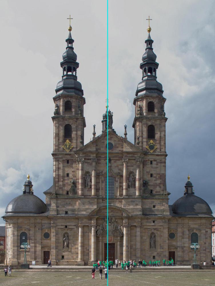 Vergleichsfoto