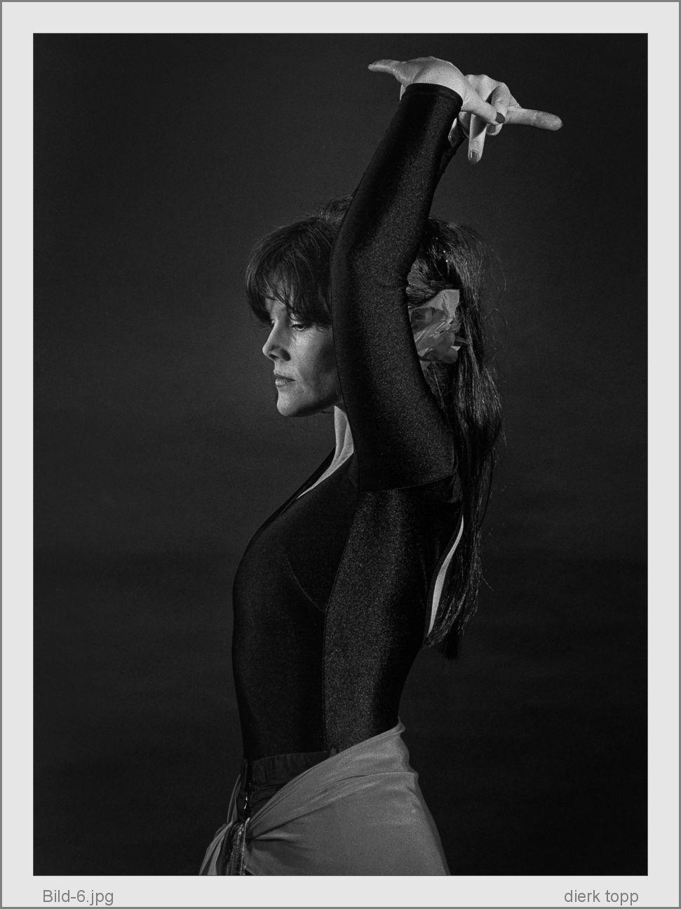 Meine Frau liebt Flamenco, 1987, Nikon FA, T-Max 400, zwei Softboxen - (c) Dierk Topp