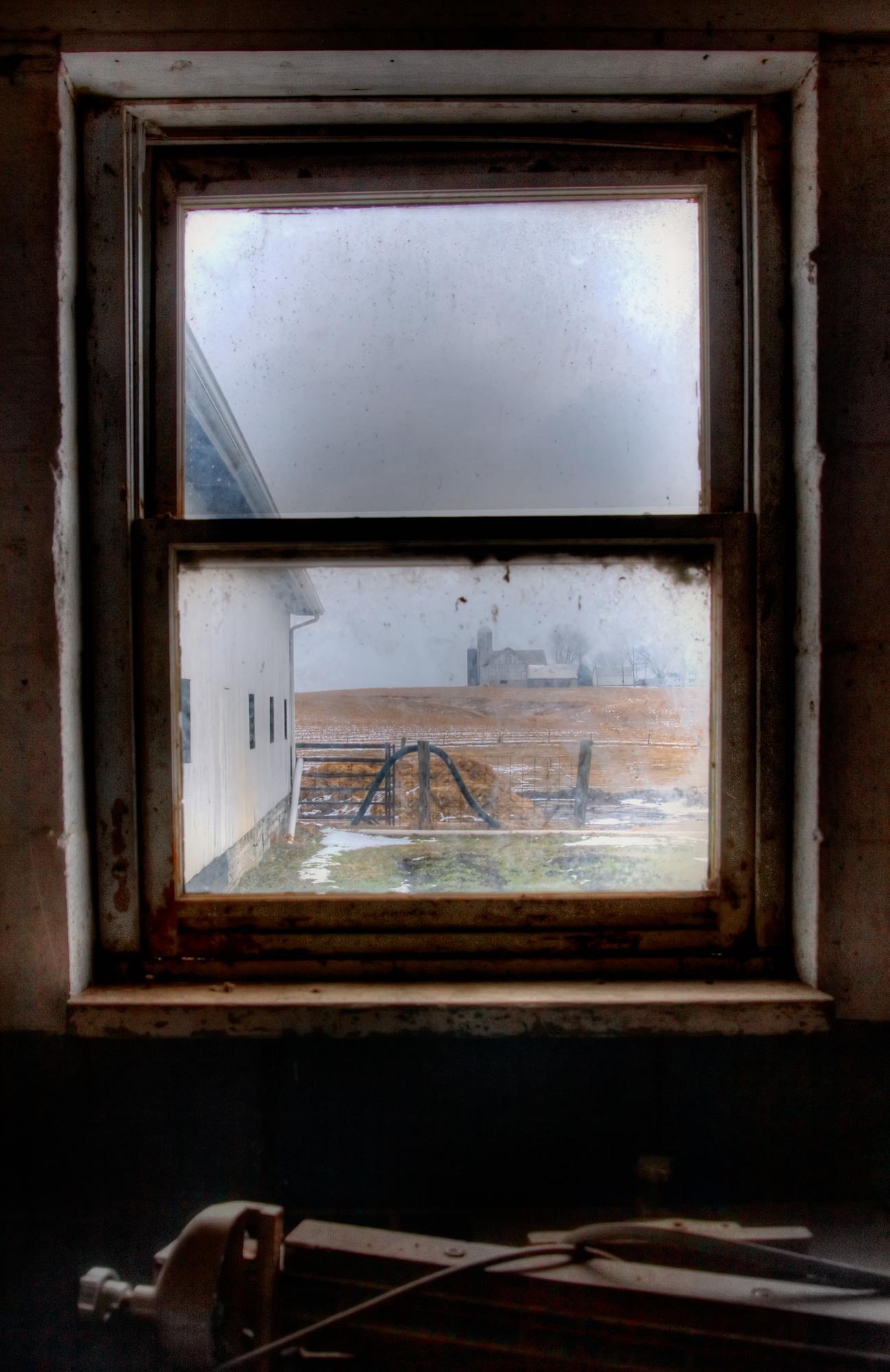 Blick durchs Fenster, Breezy Hill Farm - (c) Sofie Dittmann