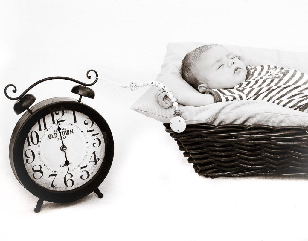 Baby Anna Im Highkey-Foto