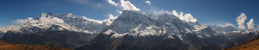 Panorama des Annapurna, Himalaya