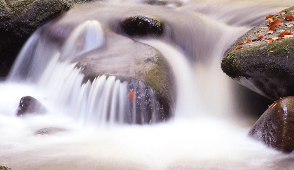 Wasserfalllinie, korrigiert