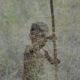 """""""Lost in Grass"""" – Kind im Gras in Botswana. Nikon D90 1/250s bei F/5.6 mit 200mm Brennweite und ISO 400 ©Dirk Steffens"""