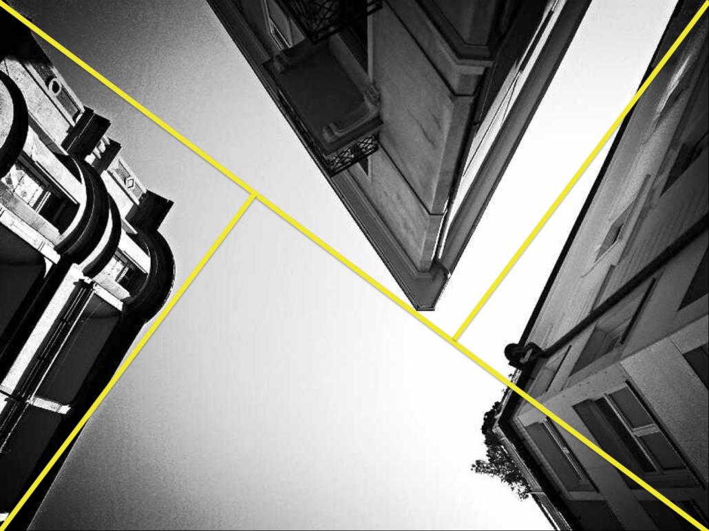 Diagonalen-Aufteilung