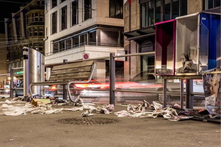 Nachtfotografie aus Zürich