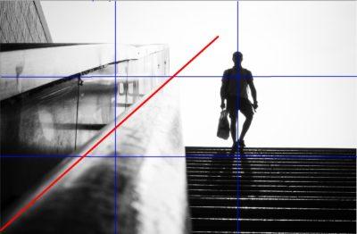 Gegenlichtfotografie Linienführung