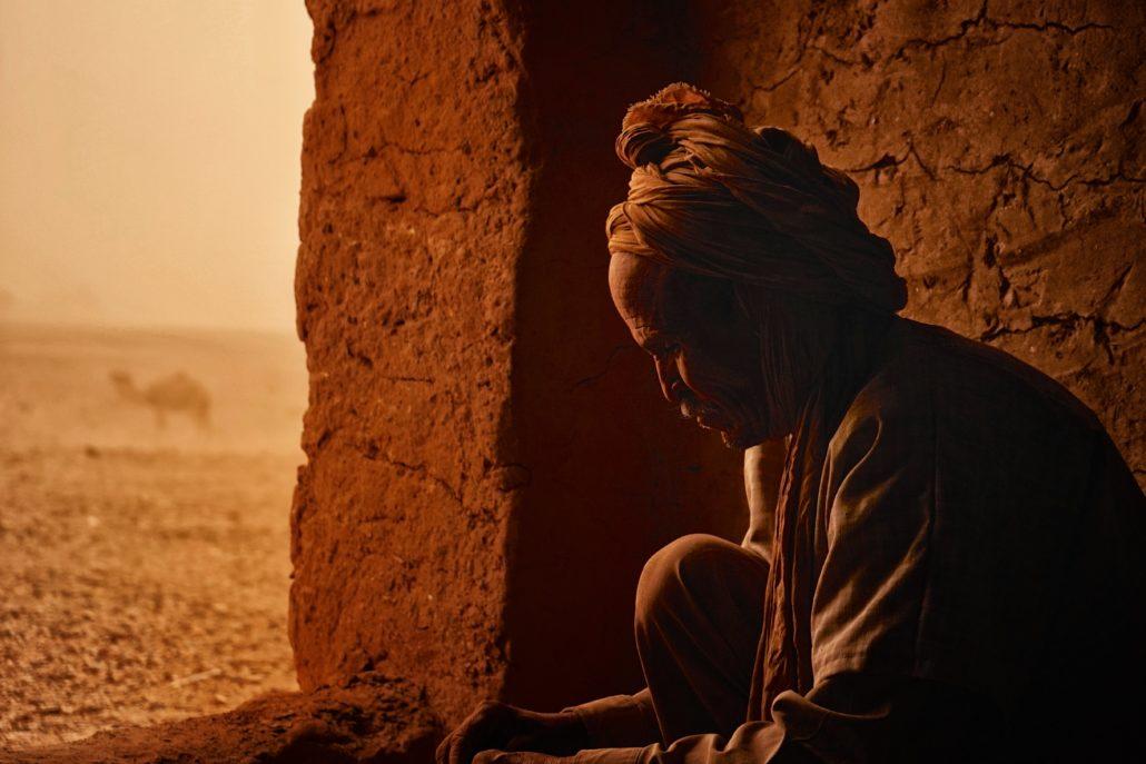 Sandsturm In Marokko