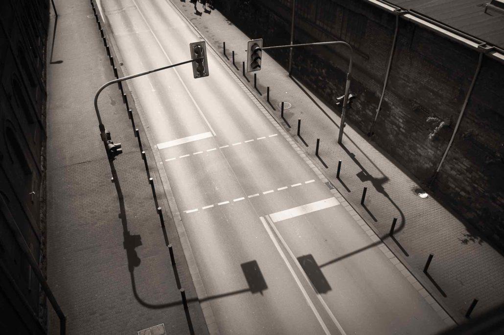 """© Anke Ola Schmidt, """"Traffic Lights from above"""""""